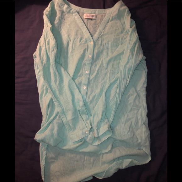 Old Navy Tops - Teal old navy tunic. Size M